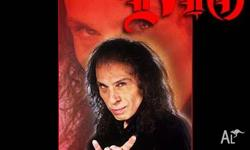 Ronnie James Dio Rock Iconz Statue The sculpture of Dio
