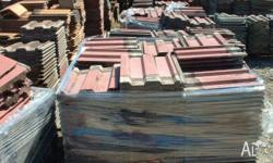 Roof tiles Monier 100s lots in stock $2 each Underwood