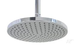 220mm round shower head plastic shower wels 3 star 9lpm