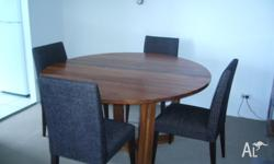 Table and chairs bought new for ( $2300.00) Beautiful