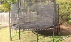 Top line trampoline 3.6m overall radius. Frame solid,