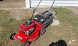 Rover mower Great work horse new blades and blade arm