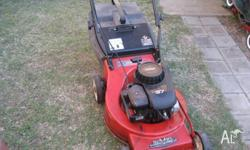 4 STROKE ROVER LAWN MOWER. Is a Classic 37 with a