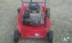 Rover 4 Stroke Lawn Mower in good working order. For