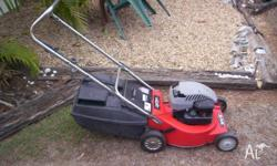 Rover 4 stroke mower, Briggs and Stratton engine with