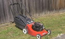 Rover 4 Stroke Mower with Catcher, Excellent Condition