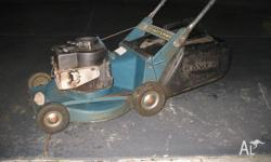 Hi We have a Rover mower and catcher for sale. The