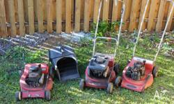 ROVER 4 STROKE MOWERS BRIGGS AND STRATTON MOTORS NOT