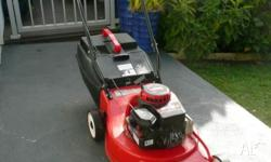 Rover Quickstart Mower in good condition with Briggs