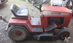 rover rancher ride-on mower has re-built 13hp briggs