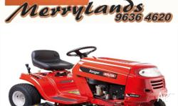 BRAND NEW ROVER RIDE ON MOWER POWERFUL 420CC ELECTRIC