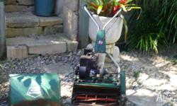 Rare Find - Rover/Scott Bonner 6 Blade Reel Mower. 3 HP