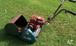 Briggs and Stratton motor, 2.5hp, 14� cut. No problems