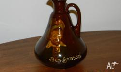 Royal Doulton Dewars Scotch Whiskey jug with image of