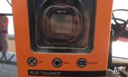 Run Trainer with GPS, HEART RATE MONITOR, 8 HOUR