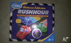 Great educational games for children. Rush Hour Delux