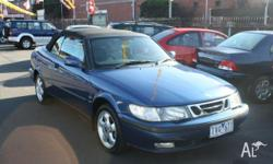 SAAB, 9-3, MY2001.5, 2001, Front Wheel Drive, BLUE, 2D