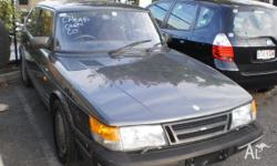 SAAB,900,1990, BLACK, 4 cylinder, Great condition, Low