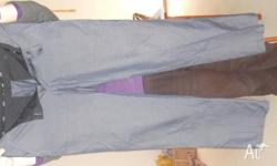 For Sale - Saba Grey Suit Pants - size 35, two pockets
