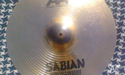 Up for sale I have a 17' Sabian AA Metal X Crash