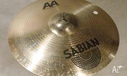 Sabian AA 19in Metal-X Crash Cymbal; Excellent Ride