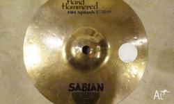 Sabian HH Hand Hammered 8' Splash. Small, thin, and