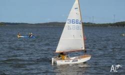 Sabot Saling Dinghy. All ready to sail. Ideal for
