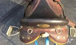 Northern River Stock Saddle $350 Near new (Only used a