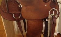 Teskeys ranch saddle, only used a handful of times.