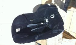Excellent used condition Black Velour car seat suitable