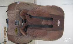 Safe and Sound (Royale) car seat (6mths to 4 yrs). Very