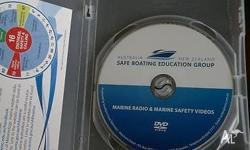 SAFE BOATING DVD PICK UP FROM CITY OR EDWARDSTOWN TEXT