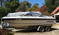 Whittley Cherokee 5.3 mtere Fish, dive ,ski fun boat.