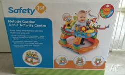 Good condition. Features 3 activity modes - baby