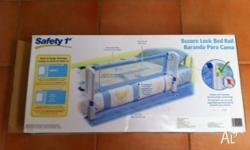 Childrens bed safety first rail in good condition and