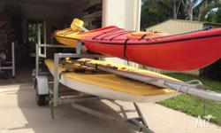 5.8m Crosswind by Pacific Sea Kayak. Good condition,