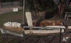 12' Sailing Dinghy, Ply, 20' Aluminium Mast, Sails &
