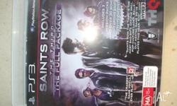 brand new Saints row the third (full package) for PS3 +