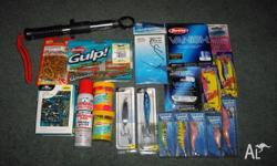 Up for sale is a great fishing starter kit or for the