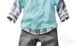 Gorgeous boys clothing set. Sizes are 2, 3, 4, 5, 6