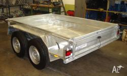 Sales 8X5TB, 2010, Silver, Box Trailer, 8 foot x 5 foot