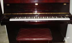 This rarely used piano is in excellent condition.