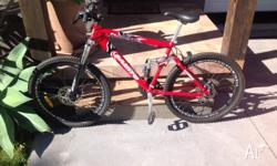 Samito Mountain bike for sale ?Dual Suspension