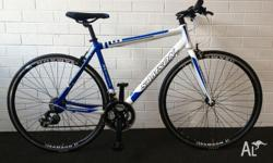 URBAN-7 SHIMANO 21 SPEED FLATBAR ROAD BIKE NOW SELLING