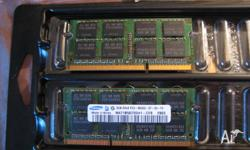 Laptop RAM, pulled from my 2010 Macbook pro. Works