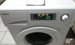 Samsung J845 front loader washing machine Capacity: