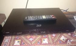 Samsung 500Gb PVR and 3D Blu-Ray player in as new