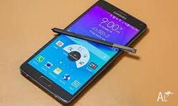 Hi i have a brand new Unlocked Samsung galaxy note 4,it