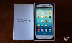 Samsung Galaxy S3 16G Marble White unlocked. Excellent
