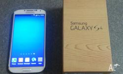 * Samsung Galaxy S4 GT-I9507- 16GB - White Frost